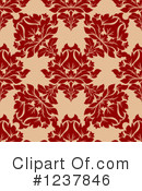 Damask Clipart #1237846 by Vector Tradition SM