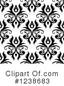 Damask Clipart #1238683 by Vector Tradition SM