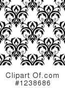 Damask Clipart #1238686 by Vector Tradition SM