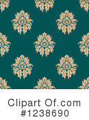 Damask Clipart #1238690 by Vector Tradition SM