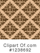 Damask Clipart #1238692 by Vector Tradition SM