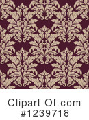 Damask Clipart #1239718 by Vector Tradition SM