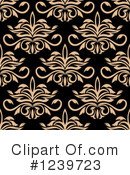 Damask Clipart #1239723 by Vector Tradition SM