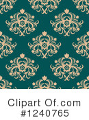 Damask Clipart #1240765 by Vector Tradition SM