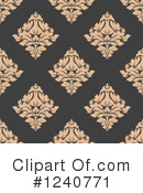 Damask Clipart #1240771 by Vector Tradition SM