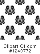 Damask Clipart #1240772 by Vector Tradition SM