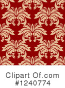 Damask Clipart #1240774 by Vector Tradition SM
