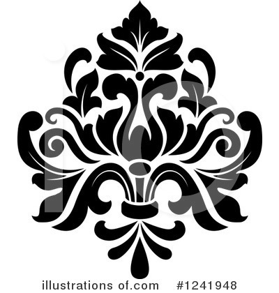 Damask Clipart #1241948 by Vector Tradition SM
