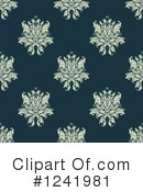 Damask Clipart #1241981 by Vector Tradition SM