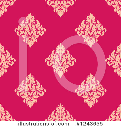 Damask Clipart #1243655 by Vector Tradition SM