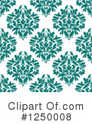 Damask Clipart #1250008 by Vector Tradition SM