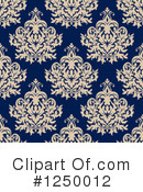 Damask Clipart #1250012 by Vector Tradition SM