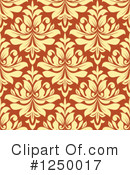 Damask Clipart #1250017 by Vector Tradition SM