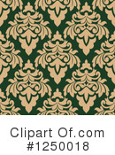 Damask Clipart #1250018 by Vector Tradition SM