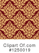Damask Clipart #1250019 by Vector Tradition SM