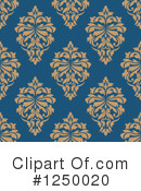 Damask Clipart #1250020 by Vector Tradition SM