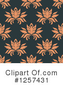 Damask Clipart #1257431 by Vector Tradition SM