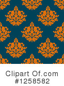Damask Clipart #1258582 by Vector Tradition SM