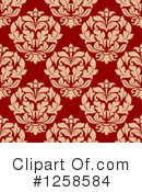 Damask Clipart #1258584 by Vector Tradition SM