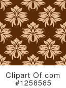 Damask Clipart #1258585 by Vector Tradition SM