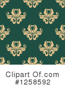 Damask Clipart #1258592 by Vector Tradition SM