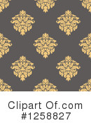 Damask Clipart #1258827 by Vector Tradition SM