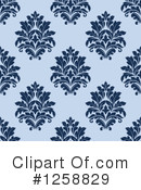 Damask Clipart #1258829 by Vector Tradition SM
