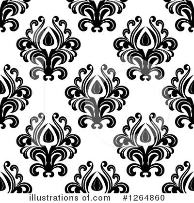 Damask Clipart #1264860 by Vector Tradition SM