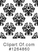 Royalty-Free (RF) Damask Clipart Illustration #1264860