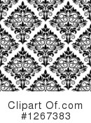 Royalty-Free (RF) Damask Clipart Illustration #1267383