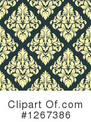 Damask Clipart #1267386 by Vector Tradition SM
