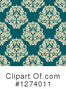 Damask Clipart #1274011 by Vector Tradition SM
