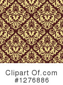 Damask Clipart #1276886 by Vector Tradition SM