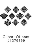 Damask Clipart #1276899 by Vector Tradition SM