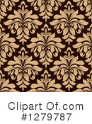 Damask Clipart #1279787 by Vector Tradition SM