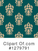 Damask Clipart #1279791 by Vector Tradition SM