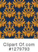 Damask Clipart #1279793 by Vector Tradition SM