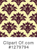 Damask Clipart #1279794 by Vector Tradition SM