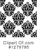Damask Clipart #1279795 by Vector Tradition SM