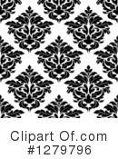 Damask Clipart #1279796 by Vector Tradition SM