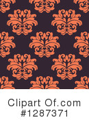Damask Clipart #1287371 by Vector Tradition SM