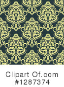 Damask Clipart #1287374 by Vector Tradition SM
