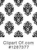 Damask Clipart #1287377 by Vector Tradition SM