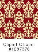 Damask Clipart #1287378 by Vector Tradition SM