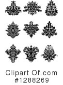 Damask Clipart #1288269 by Vector Tradition SM