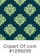 Damask Clipart #1288295 by Vector Tradition SM