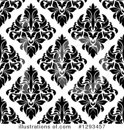 Damask Clipart #1293457 by Vector Tradition SM
