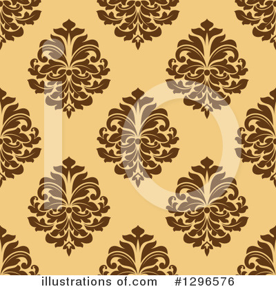 Damask Clipart #1296576 by Vector Tradition SM
