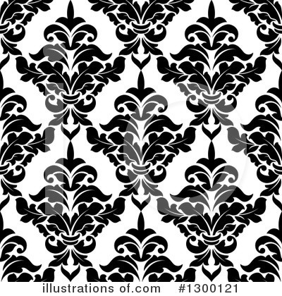 Damask Clipart #1300121 by Vector Tradition SM