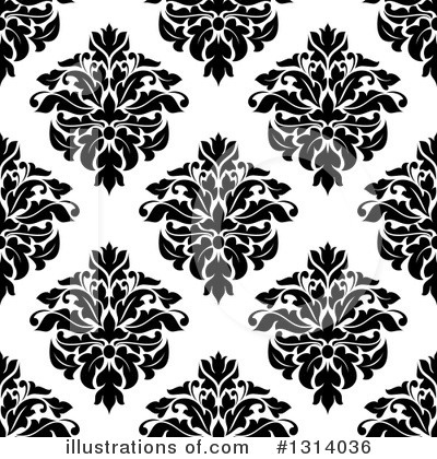 Damask Clipart #1314036 by Vector Tradition SM